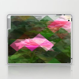 Pink Roses in Anzures 5 Art Triangles 1 Laptop & iPad Skin