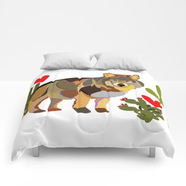 Wolf Endangered Mexican Gray Wolf Comforters