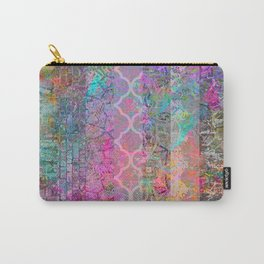 Pastel Boho Grunge Carry-All Pouch