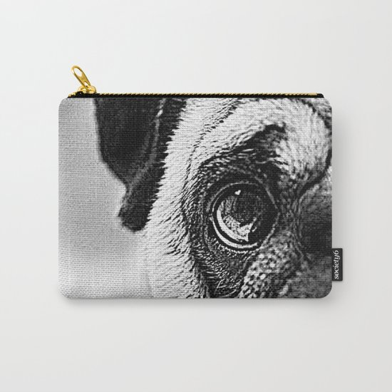 Pug Sketch Carry-All Pouch