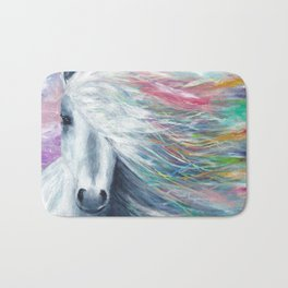 Rainbow Horse Bath Mat