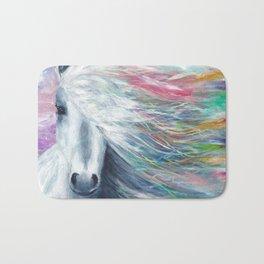 Rainbow Horse Bath Mat