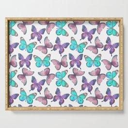 Flutter Butterfly Pattern Serving Tray
