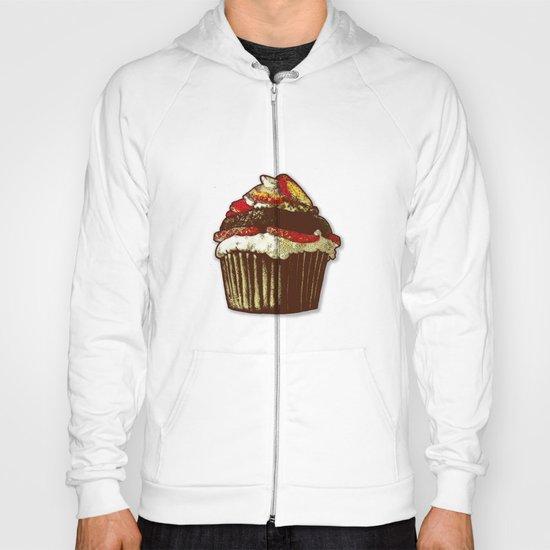strawberry cake Hoody