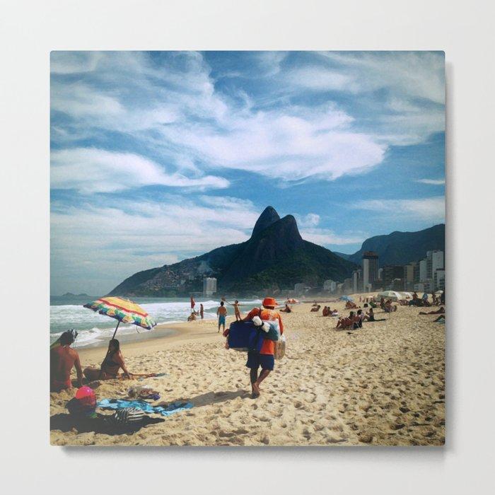 Rio de Janeiro 2 Metal Print