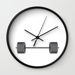Birthday Celebration Party Gift Beast Are Born In September Birth Anniversary Gym Barbells Wall Clock