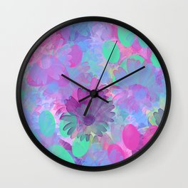 Spring Paws Wall Clock