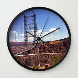 Royal Gorge Bridge, Colorado Wall Clock