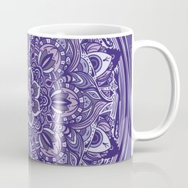 Great Purple Mandala Coffee Mug
