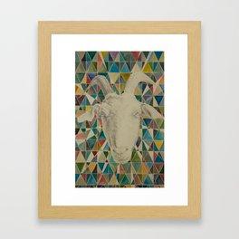 The Great Pan is Dead II Framed Art Print