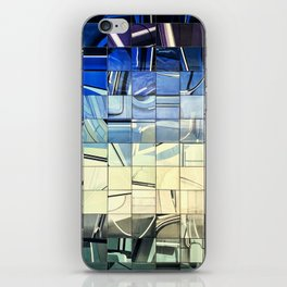 Lisbon Portugal Azulejo Abstract Glass Pano iPhone Skin