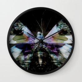 Papillon _ Innocent when You dream Wall Clock