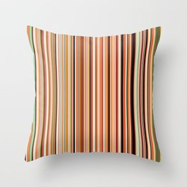 Old Skool Stripes - Morning Throw Pillow