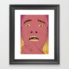 End Of World Framed Art Print