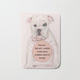 Bulldog humour Bath Mat