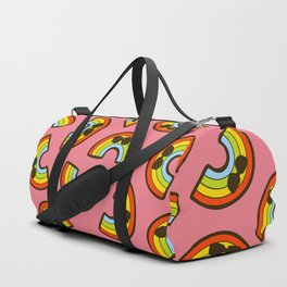 Rainbow Pride Pattern Duffle Bag