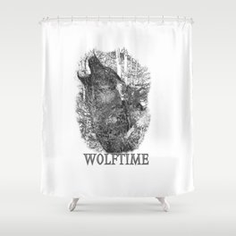 Time of the Wolf Shower Curtain