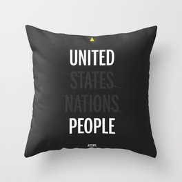 UP - United People Throw Pillow