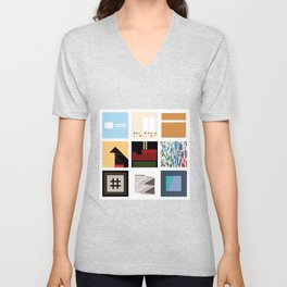 Death Cab For Cutie Unisex V-Neck