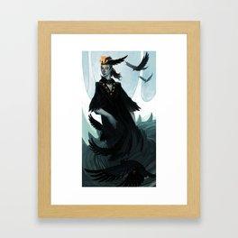 Lady Murder Framed Art Print