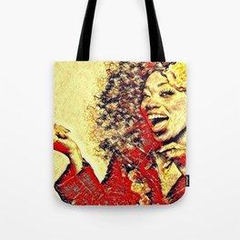 Ebony Joy Tote Bag