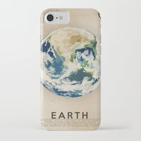 earth iPhone & iPod Cases featuring Earth by Heather Landis