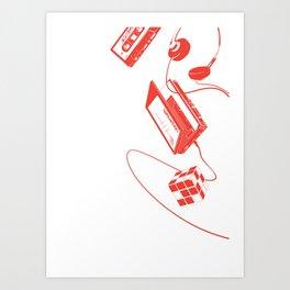 80's vibes II Art Print