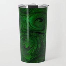 Emerald Green Roses Travel Mug