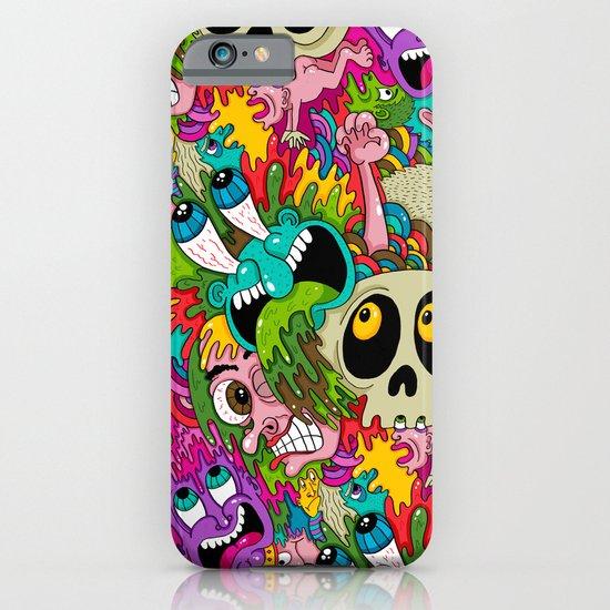 Puke Pattern iPhone & iPod Case
