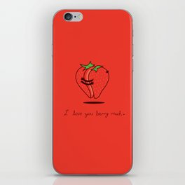 How much do I love you? iPhone Skin