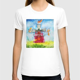 Dutch Windmills T-shirt