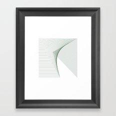 #266 Fault – Geometry Daily Framed Art Print