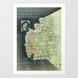 The individualist Art Print