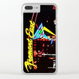 Fremont Street East Clear iPhone Case