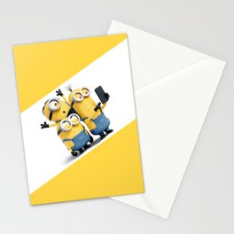 Funny Minion Stationery Cards