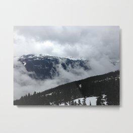 whistler mountain Metal Print