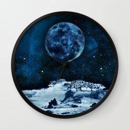 Blue Traveler Wall Clock