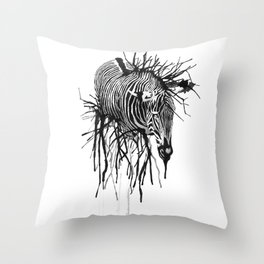Dissolve Throw Pillow