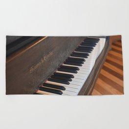 Mason & Hamlin Piano Beach Towel