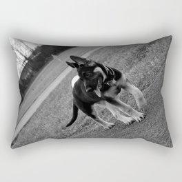 Bella the German Shepard 2 Rectangular Pillow
