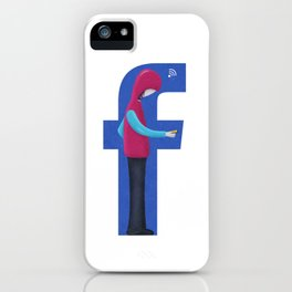 Facebook Guy iPhone Case