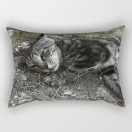 Wild cat Rectangular Pillow