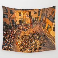 concert Wall Tapestries featuring classical music concert by  Agostino Lo Coco