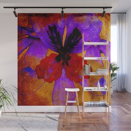 Lilac fusion Wall Mural