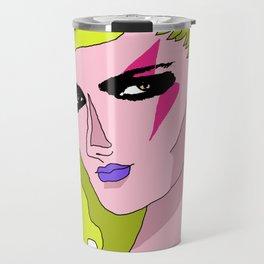 Glam Rock Queen Travel Mug