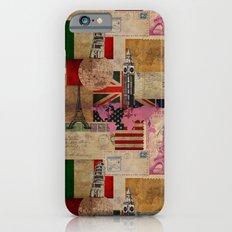 Travel Around the World iPhone 6 Slim Case