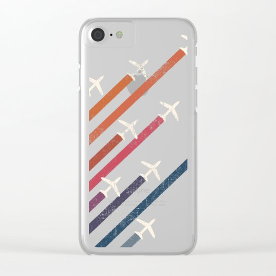 Aerial display (ver.2) Clear iPhone Case