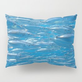 Fish shoal of common bellowsfish Pillow Sham