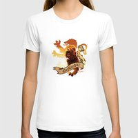 gryffindor T-shirts featuring Gryffindor by Markusian