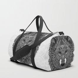 Gray Wolf Duffle Bag
